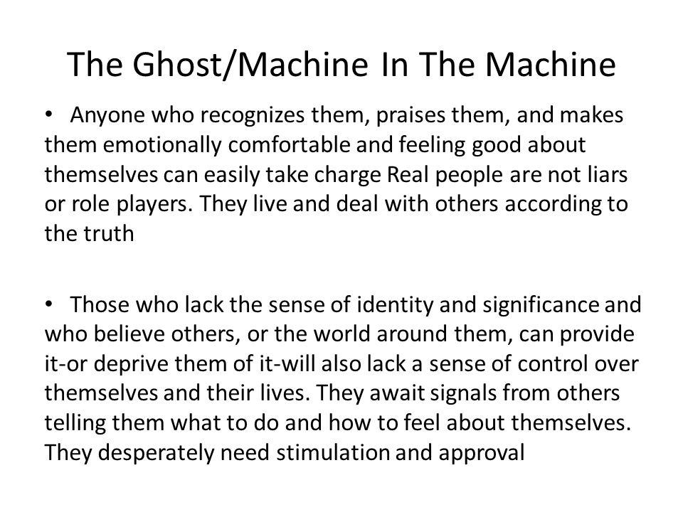 The Ghost/Machine In The Machine