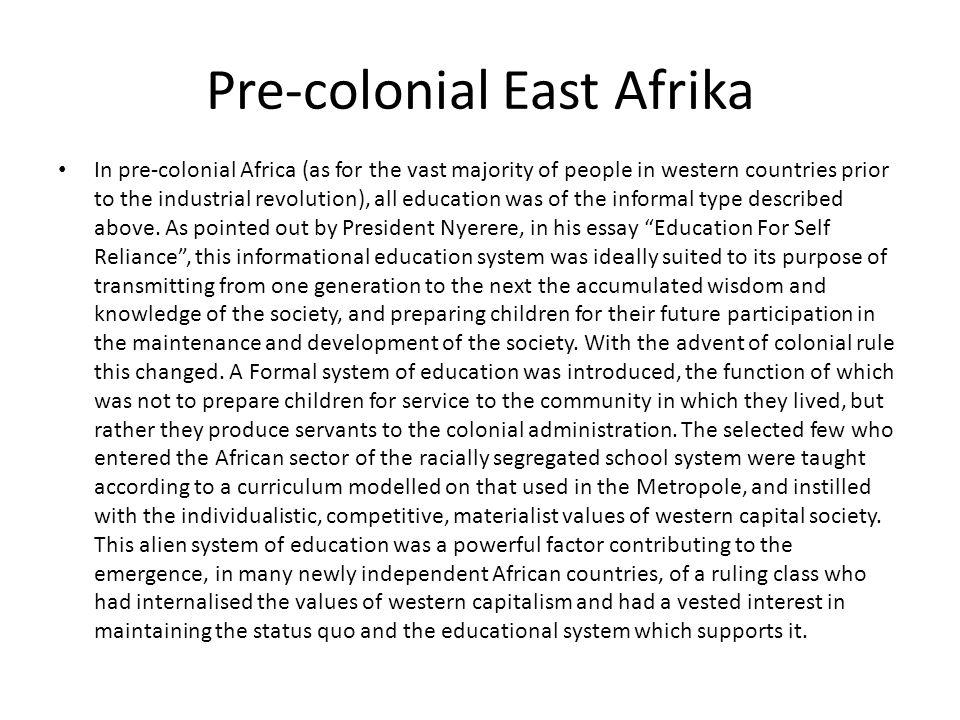Pre-colonial East Afrika
