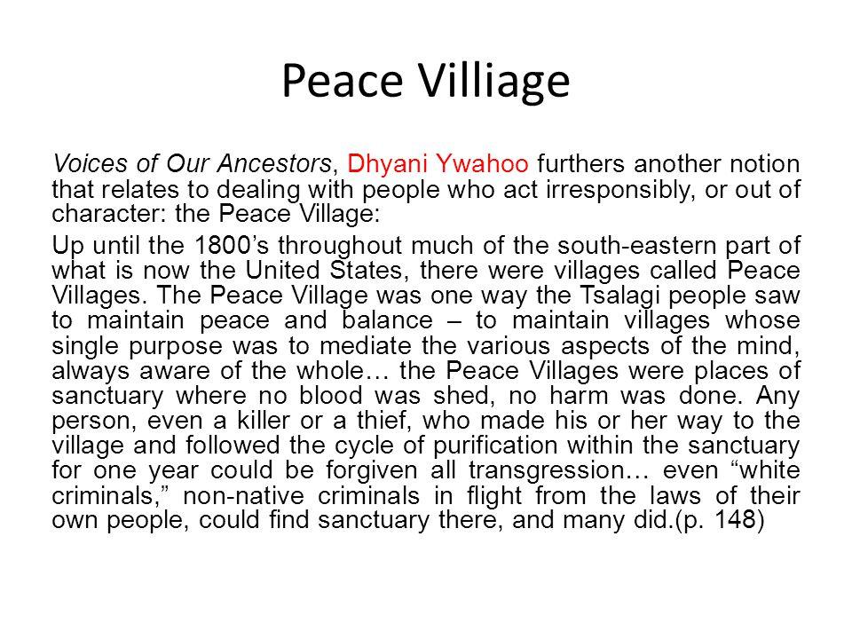 Peace Villiage
