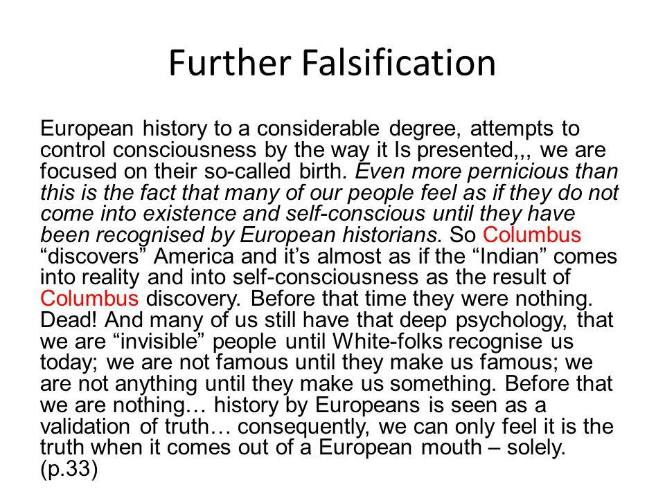Further Falsification