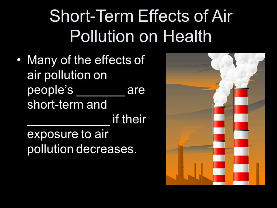 overview of air pollution International journal of environmental research and public health review air pollution forecasts: an overview lu bai 1, jianzhou wang 1,, xuejiao ma 1 id and haiyan lu 2.