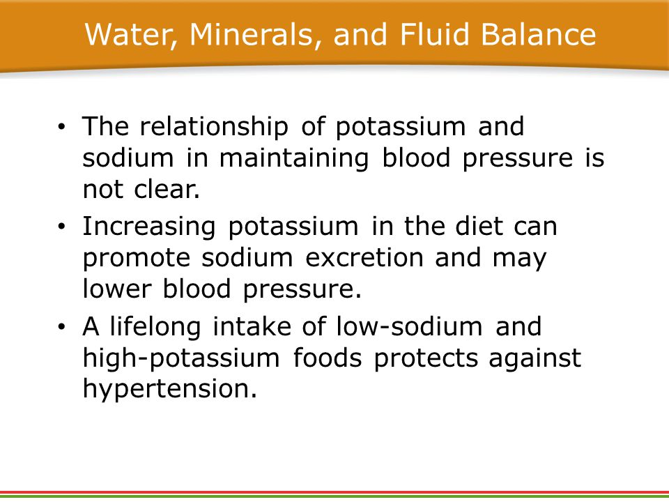 potassium and chloride relationship