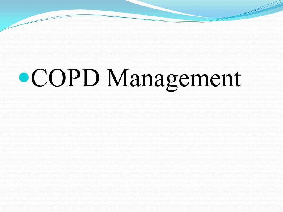COPD Management