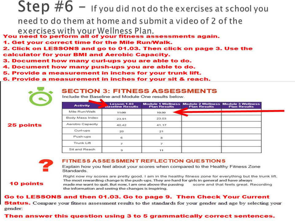 wellness plan reflection questions Just like a training plan, a wellness plan helps you lay  you athletic and wellness goals a training plan that includes post  allows for reflection.