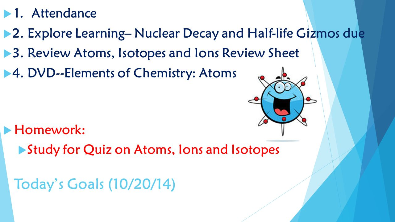 Chemistry daily lesson plans quarter 2 ppt video online download 2 todays robcynllc Image collections
