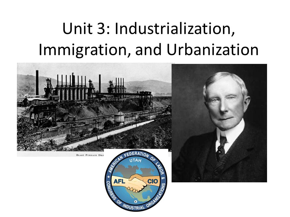 industrialization and urbanization essay Industrialization and appalachia essay the topics of industrialization, urbanization, and globalization  the positive and negative effects of russian.