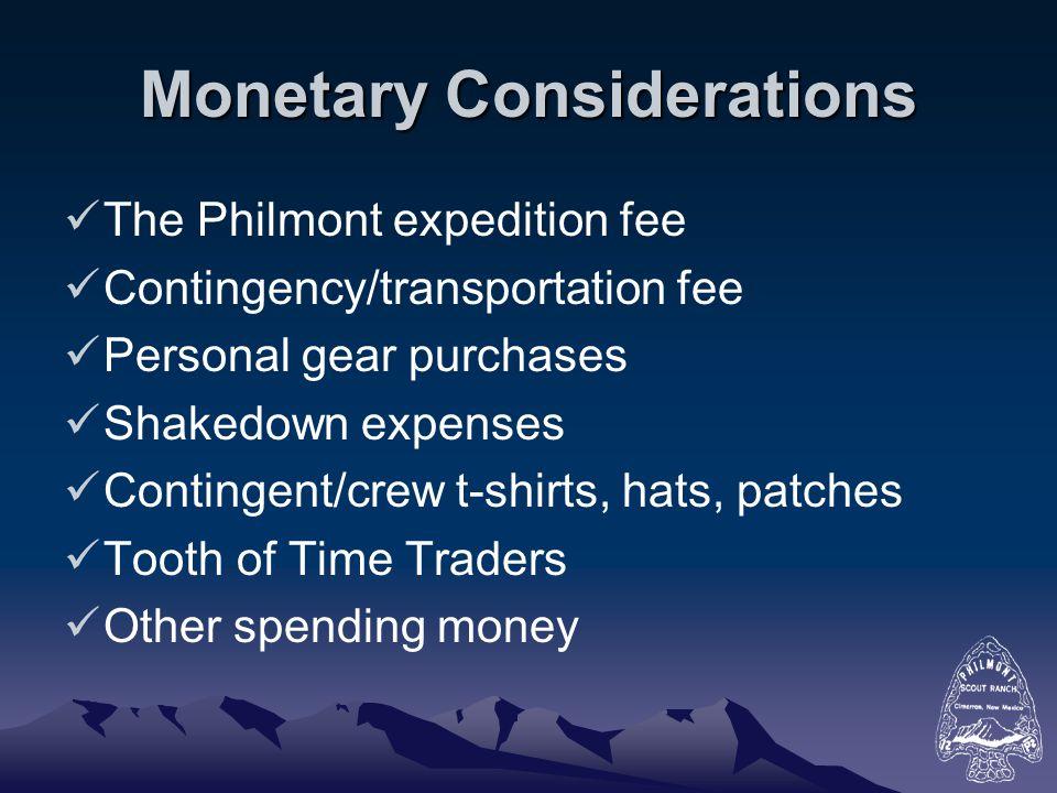 Tour Permit For Philmont