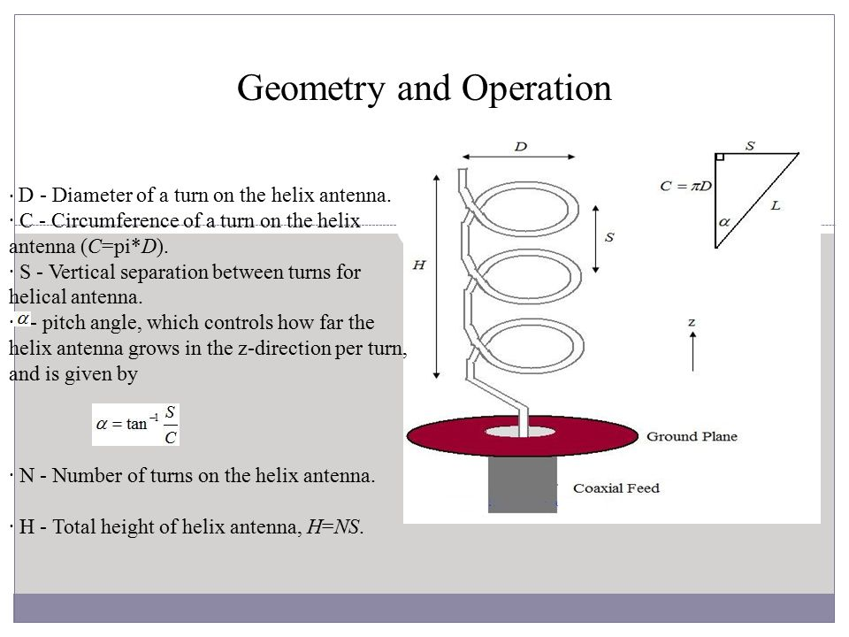 Geometry and Operation