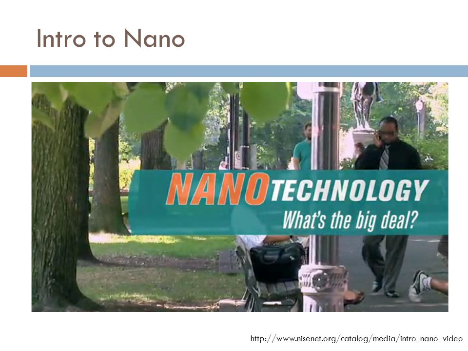 THE BENEFITS OF NANOTECHNOLOGY
