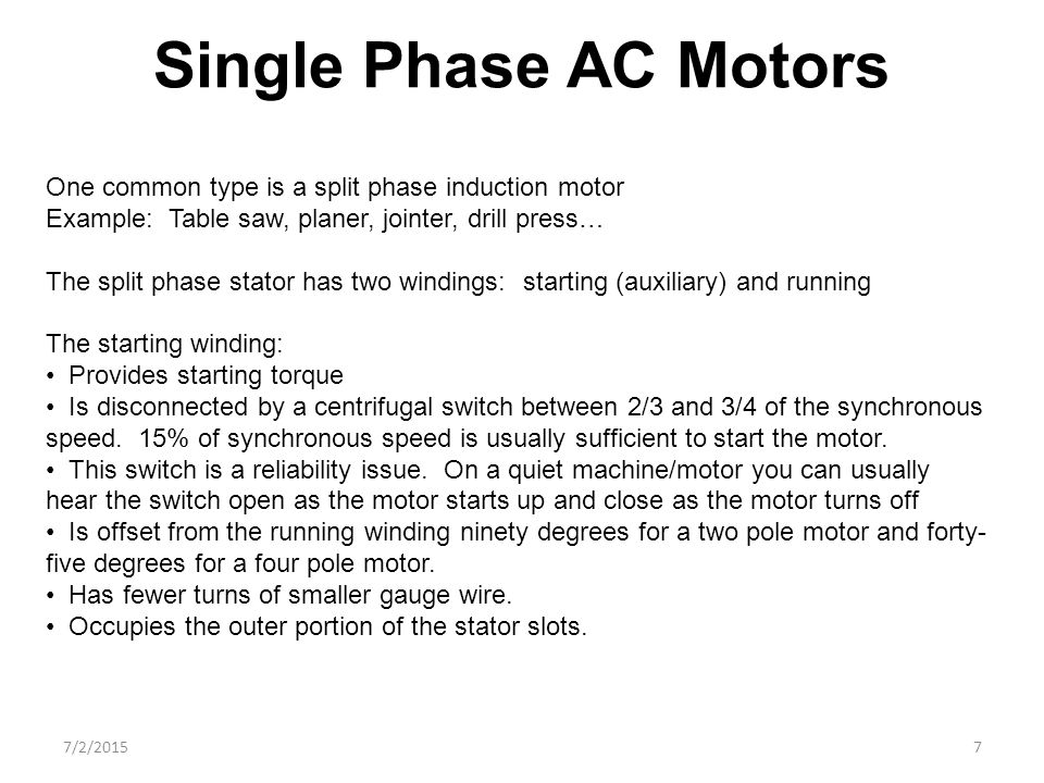 How Motors Operate Presented By John Freeland Ppt Video
