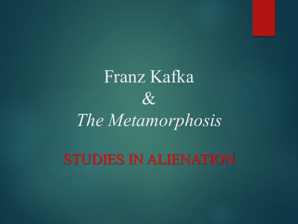 themes in the metamorphosis by franz kafka