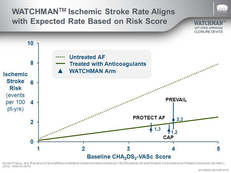 cha2ds2 vasc score nice guidelines