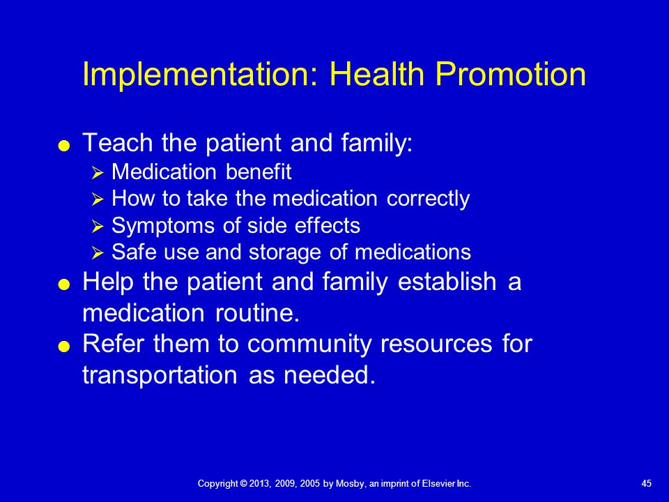 implementation methods of health promotion Strategies and methods of health promotion authorities and health trusts health promotion unit and in the planning and implementation of their health.