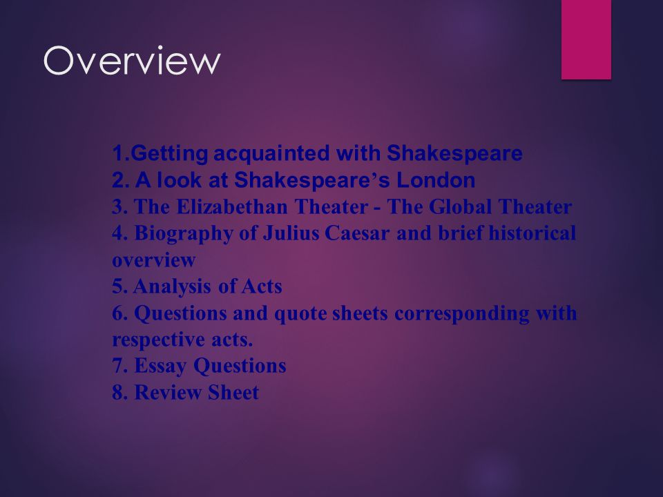 "julius caesar the ""foremost man of all the world "" pp ppt video  2 overview 1"