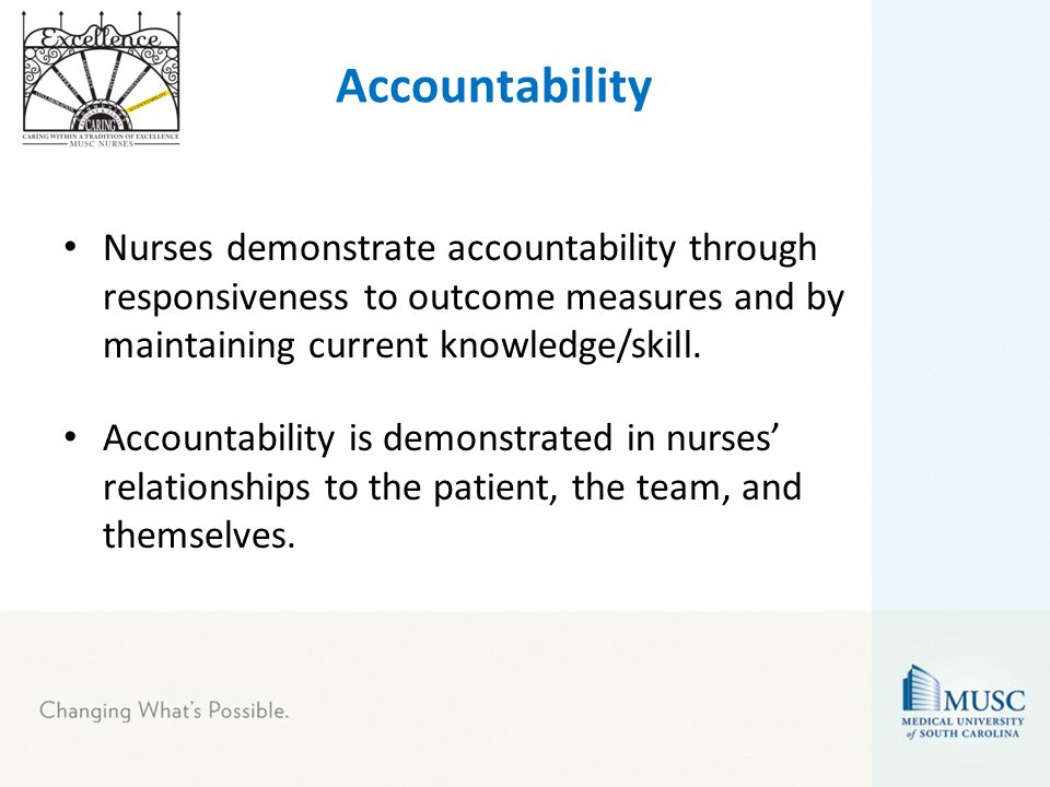 relationship between accountability and delegation nursing