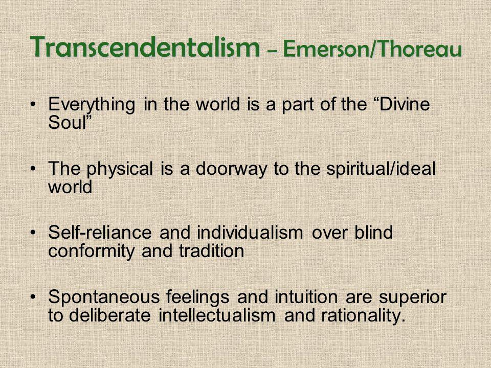 emerson thoreau individualism