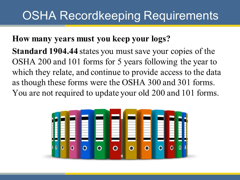 An Introduction To Osha Recordkeeping - Ppt Download