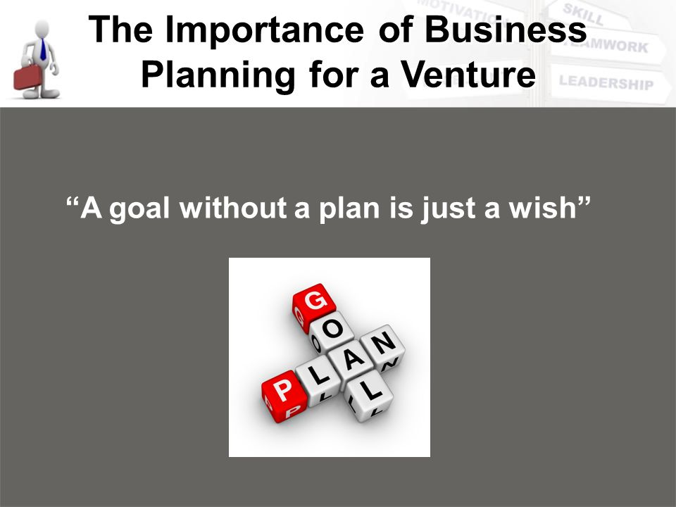 importance of doing business plan