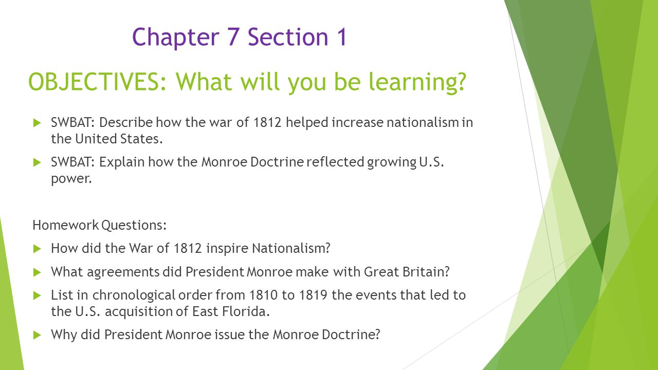 the monroe doctrine essay How can the answer be improved.