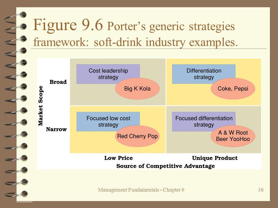 generic strategies at pepsi