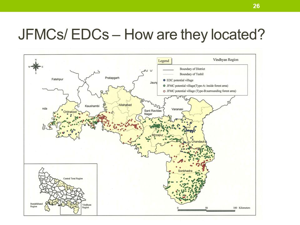 JFMCs/ EDCs – How are they located