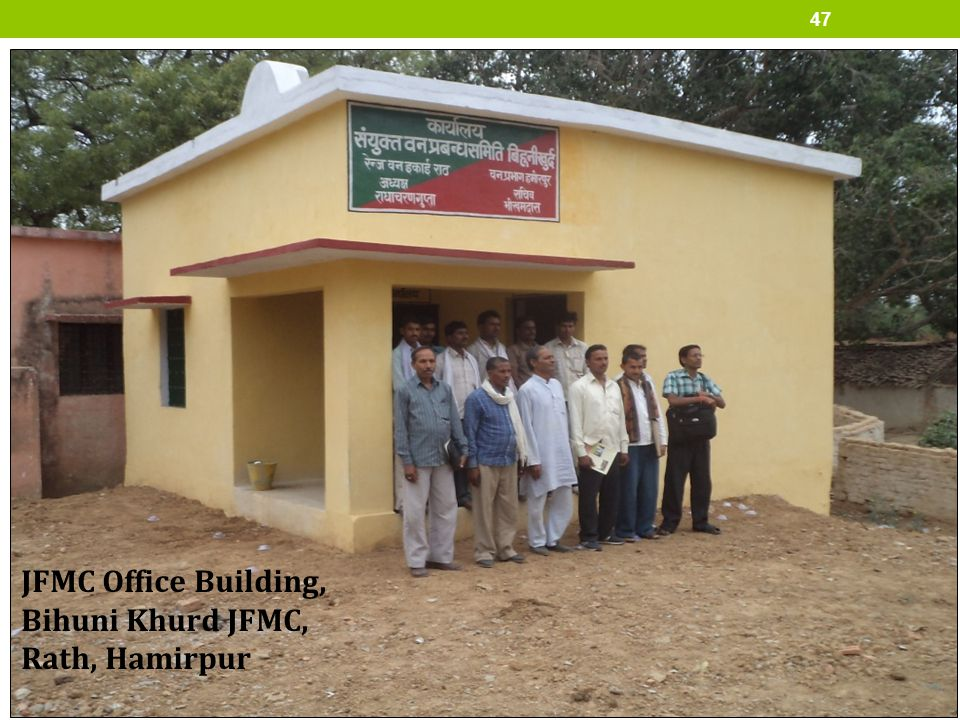 JFMC Office Building, Bihuni Khurd JFMC, Rath, Hamirpur