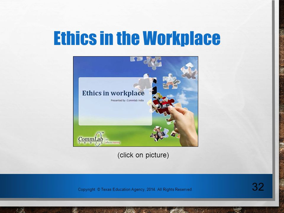 questions on employee ethics in the Example interview questions and possible answers  example questions to  ask any employee  morality and ethics are part of culture: the 'right thing to do.