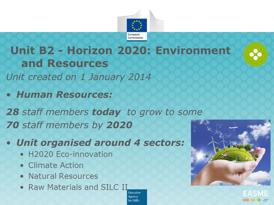 Unit B2 - Horizon 2020: Environment and Resources