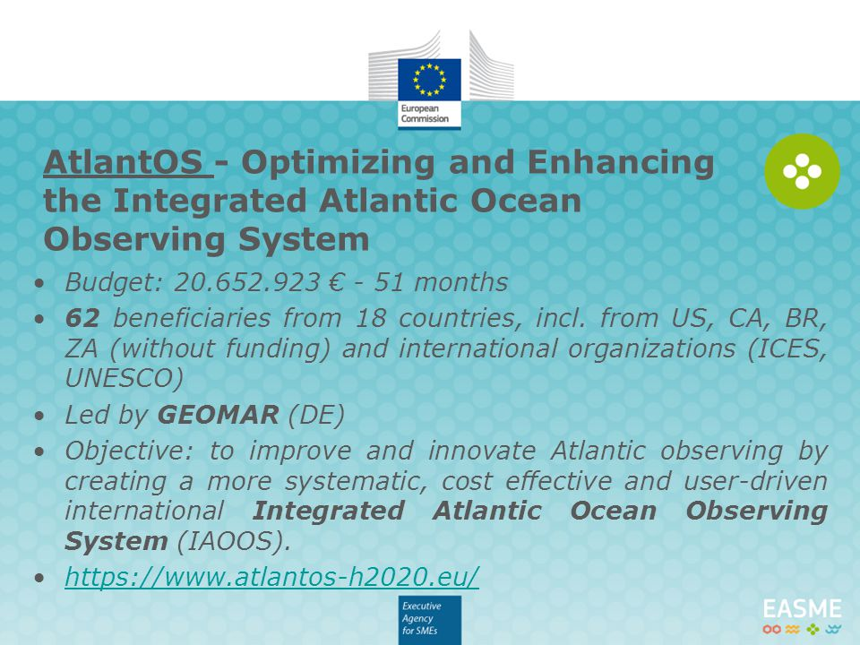AtlantOS - Optimizing and Enhancing the Integrated Atlantic Ocean Observing System