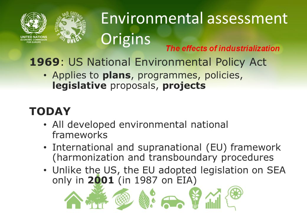 Environmental assessment Origins
