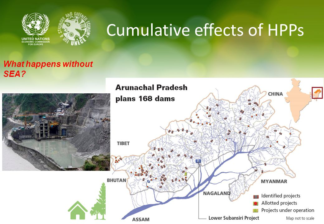 Cumulative effects of HPPs