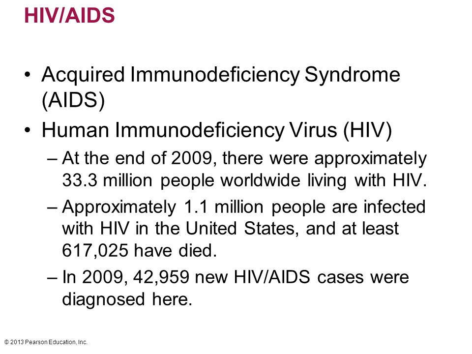 a history of acquired immunodeficiency syndrome aids virus Today, hiv (human immunodeficiency virus), remains one of the largest pandemics in the world hiv is the same virus that can lead to aids (acquired immunodeficiency.