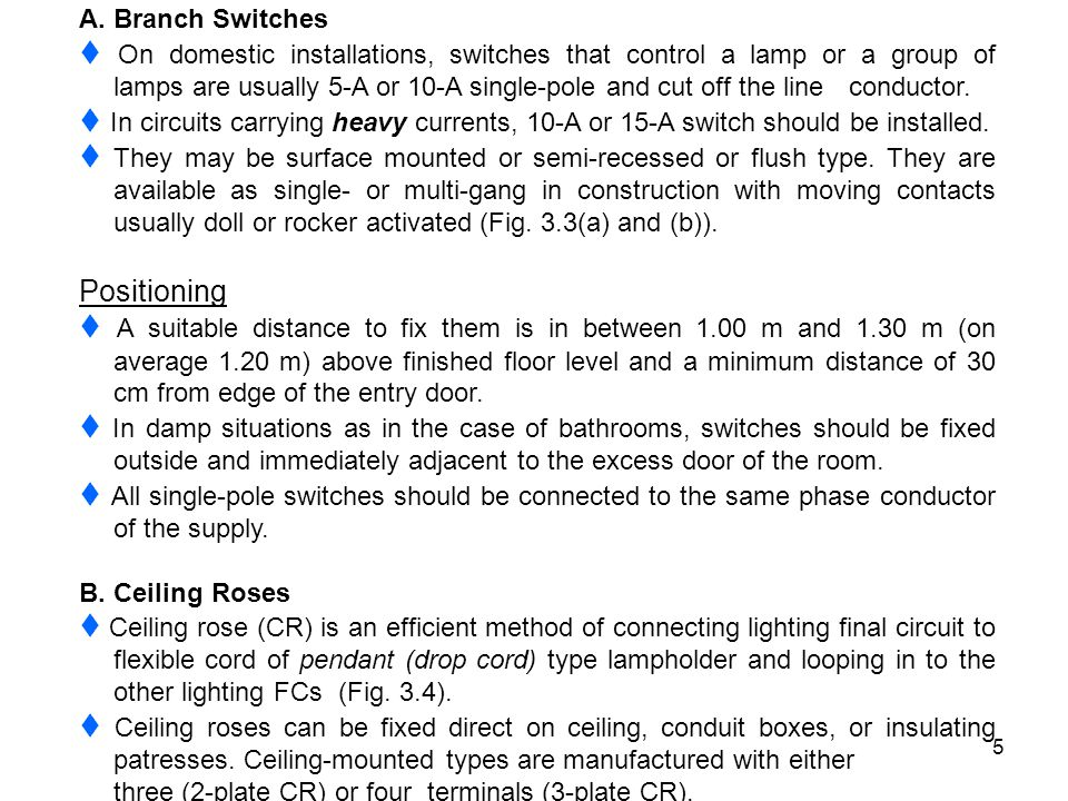 A. Branch Switches