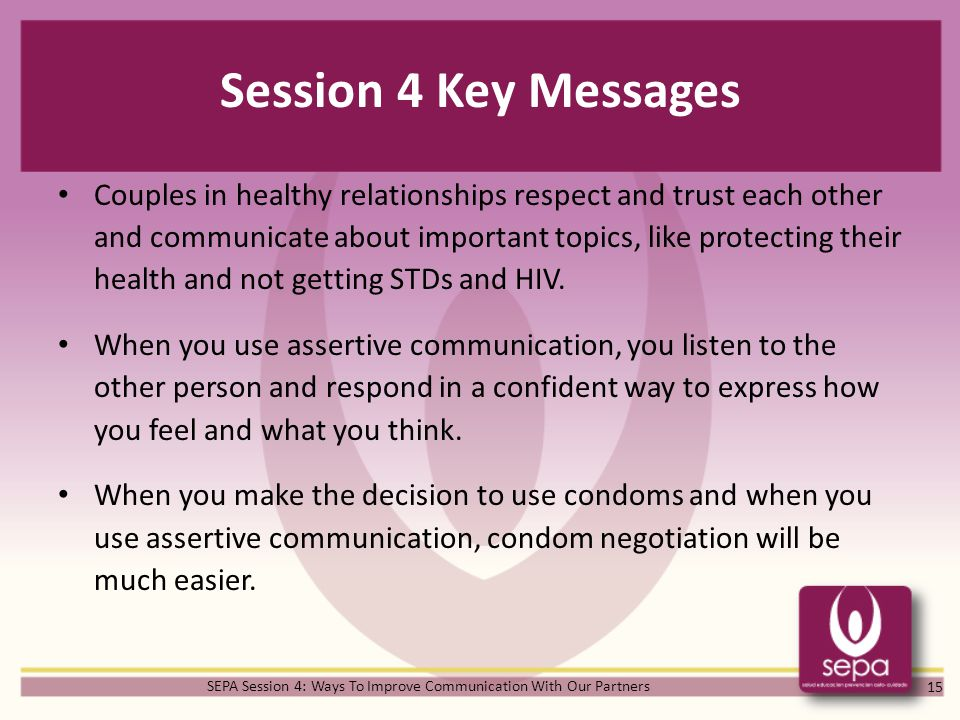 SEPA Session 4: Ways To Improve Communication With Our Partners