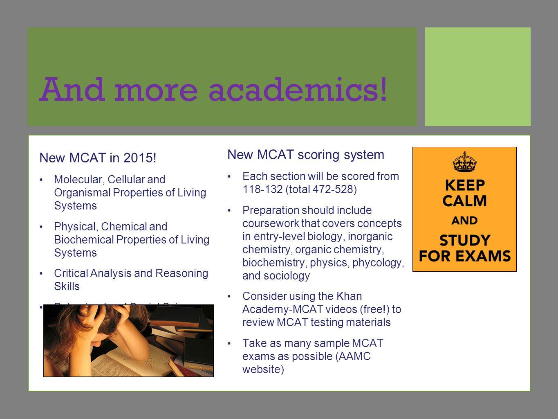 essay scores on mcat