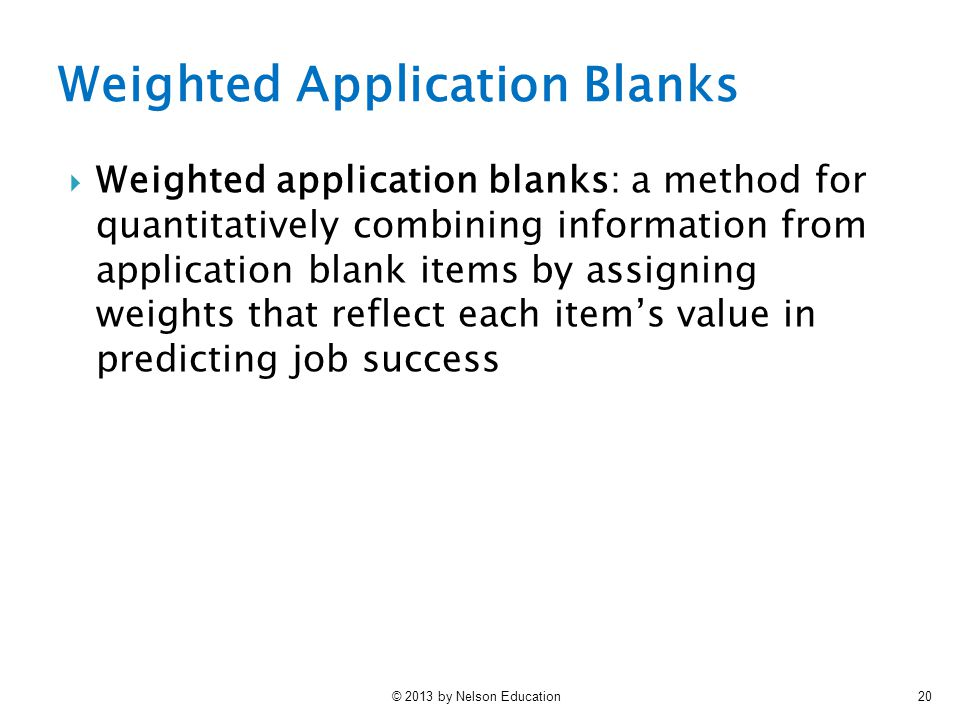 Selection I: Applicant Screening - ppt video online download