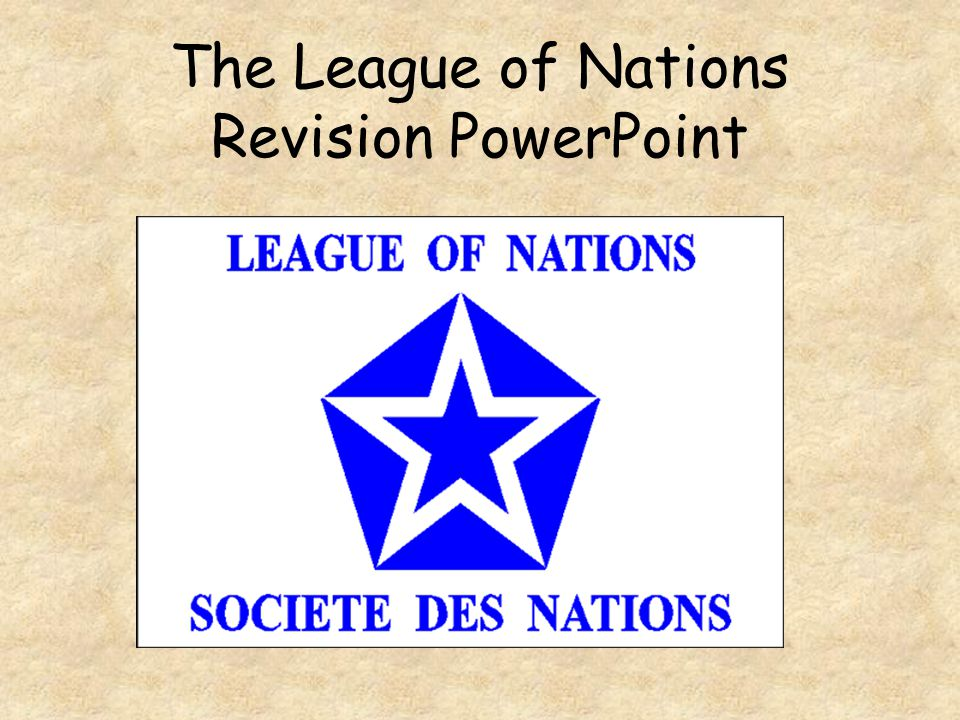 the league of nations was a This is the official web site of the united nations office at geneva here you will find daily un news, un documents and publications, un overview information, un conference information, photos, and other un information resources, such as information on conference on disarmament, the league of nations, un cultural activities, the.