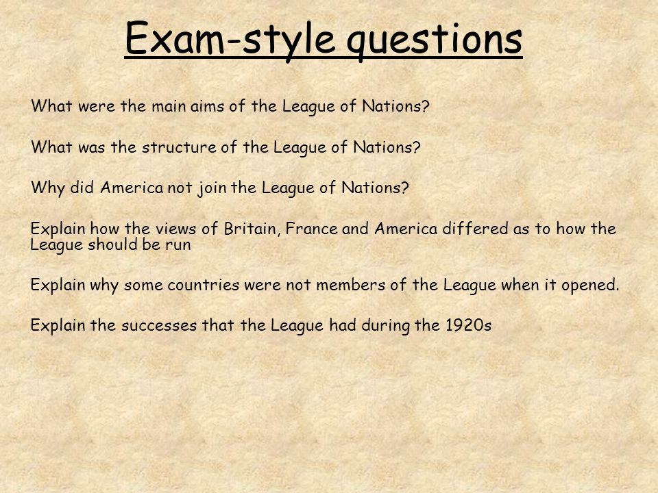 the aims of the league of nations essay The aims of the league the two main aims of the league of nations were:  a) to maintain world peace through collective security by dealing with disputes among.