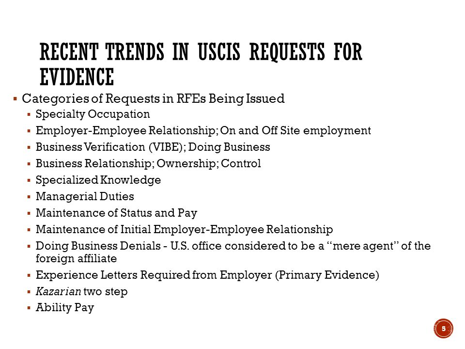 employee and employer relationship uscis