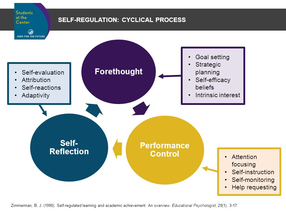 an overview of the process of self evaluation and learning