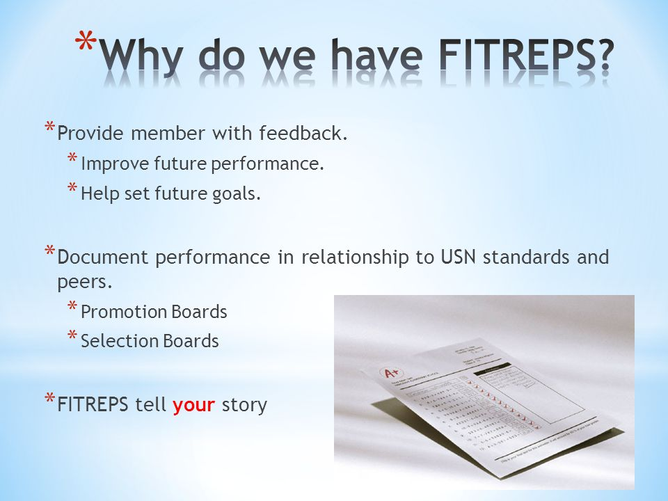 relationship of command review fitrep
