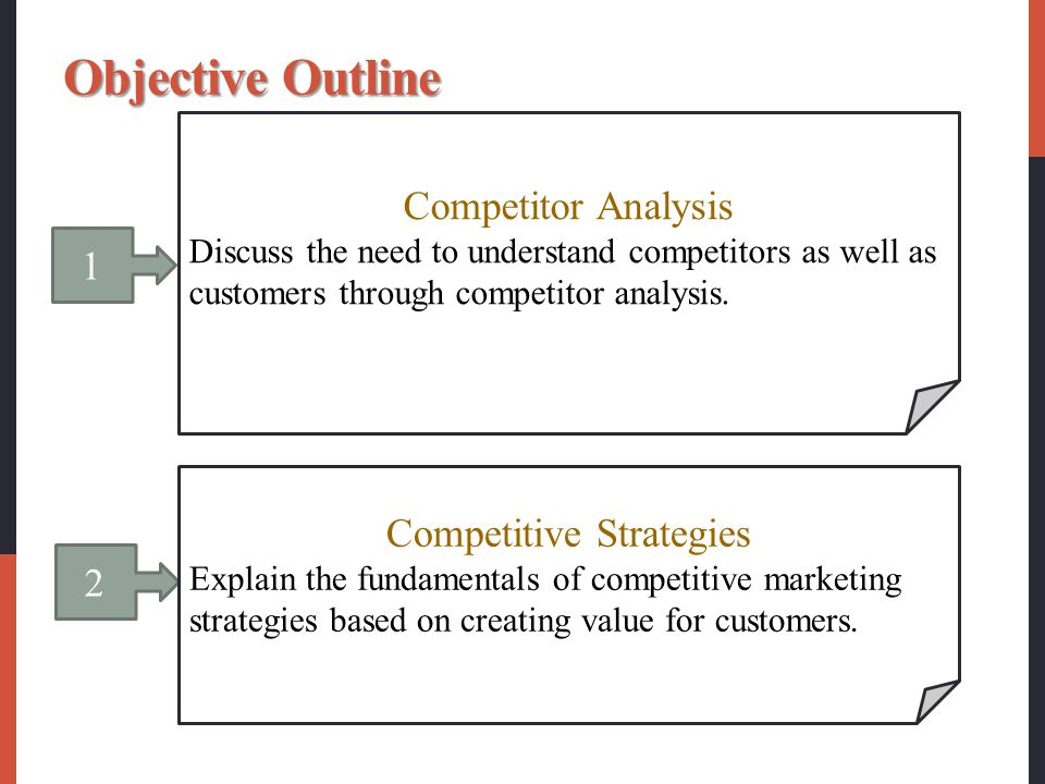 building competitive advantage through market based This fits with values-based marketing where companies' core marketing values  are aligned  as identifying, creating, communicating and delivering value   can create customer value and provide a competitive advantage - operational.