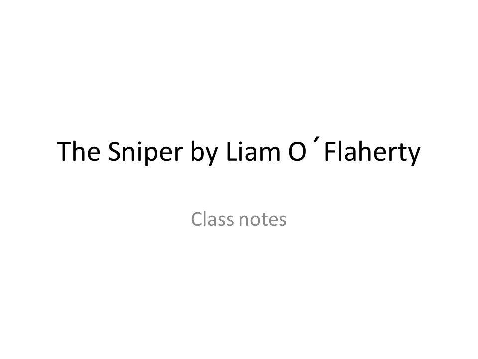 summary sniper liam o flaherty