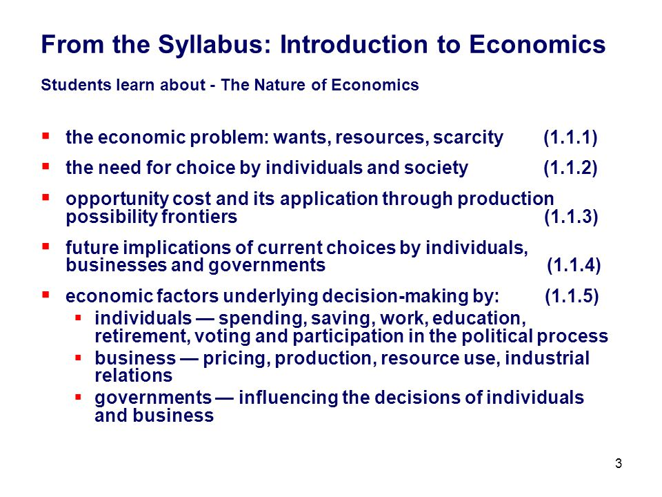 the opportunity cost of economics education When it comes down to personal finance, one economic principal rules the roost - opportunity cost with more household incomes stretched to the limits in the wake of the global economic slowdown.