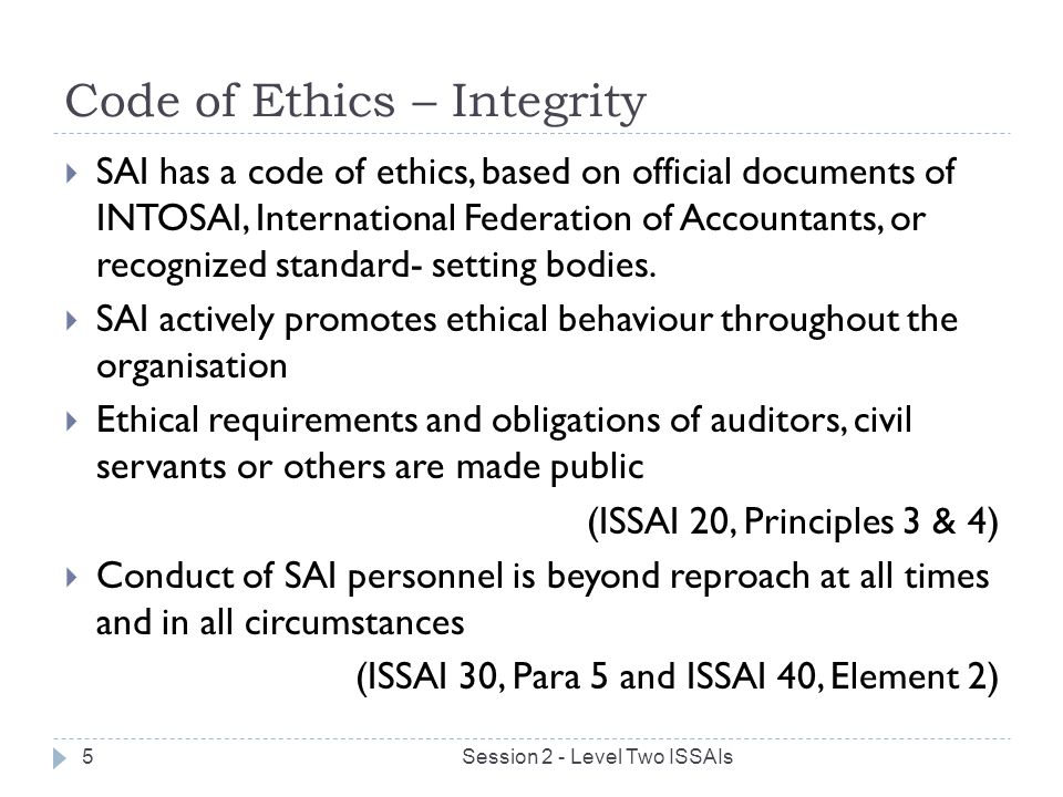 Compliance and ethics program