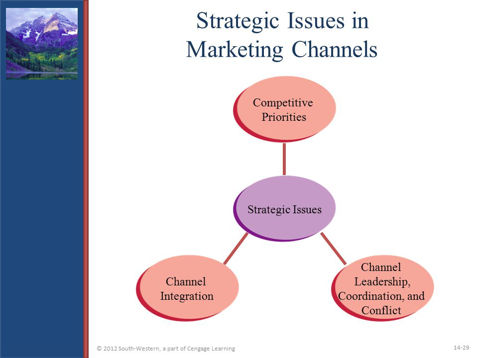 Strategic Issues in Marketing Channels