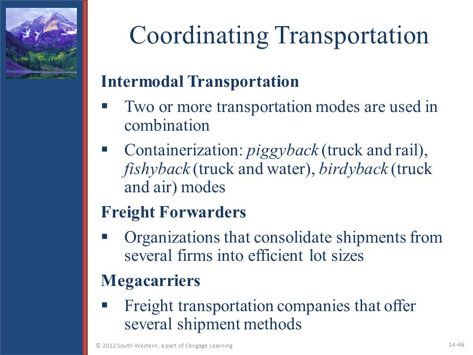 Coordinating Transportation