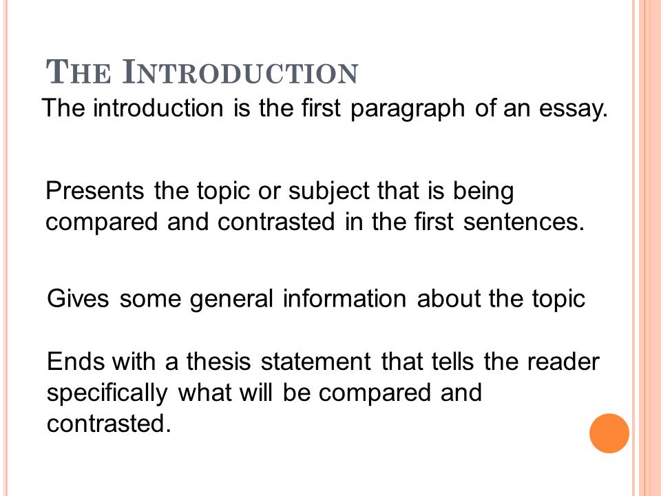 different types of introductions for essays Five (5) Paragraph Essay