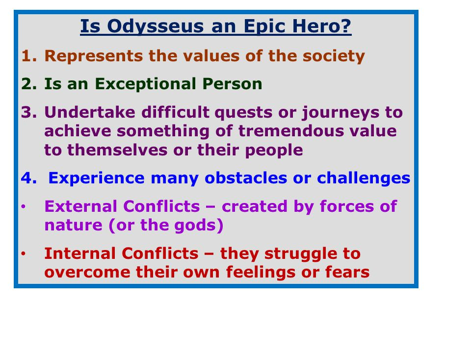 odysseus man of many traits Character traits of odysseus of homer's odyssey 553 words   2 pages travel of a man named odysseus he traveled to troy facing the dangers on many mythical creatures and many fictional creatures.