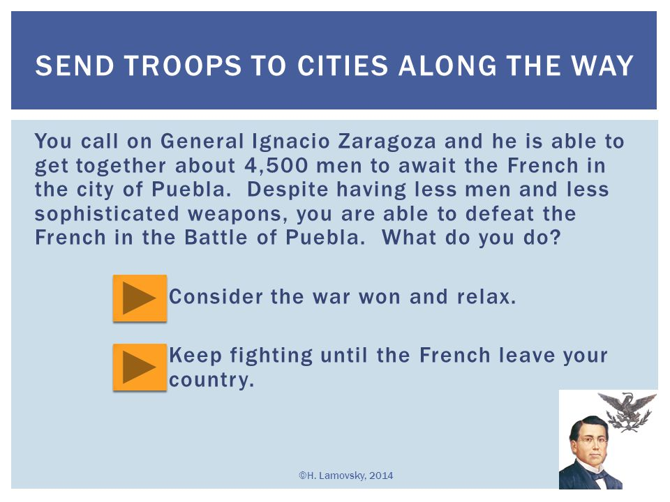 Send Troops to Cities Along the Way